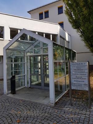 StS Gym Marburg Eingang